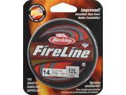 Berkley FireLine Fused Original Fishing Line, Smoke, 125 yd./14 lb. - BFLFS14-42 - Berkley