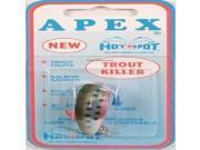 Apex Hot Spot A1351T Apex Rainbow Trout Fishing Lure, Rainbow - A1351T - Apex