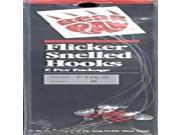 Bear Paw Flicker Nickel Long Shank #6 FNLS-6 (Fishing/Terminal)