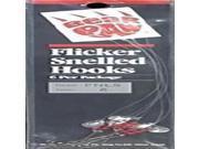 Bear Paw Flicker Nickel Long Shank #6 FNLS-6 (Fishing/Terminal)