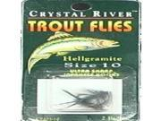 Image of Crystal River C/R Flys-Hellgramite Sz-10 CR103-10 (Fishing/Lures)