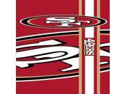 NFL San Francisco 49ers Team Color and Logo Door Banner - DBNF26 - Nfl 9SIA1N63MB2629