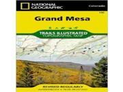 National Geographic Coloradogrand Mesa #136 -Trails Illustrated Series