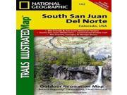 National Geographic Californiasouth San Juan #142 -Trails Illustrated Series