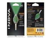 Inova CB-G Translucent Microlight, Brilliant Green LED and Grip - CB-G - Inova