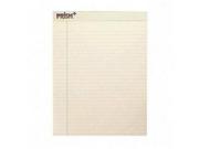 Prism Plus Colored Legal Pads 8 1/2 x 11 3/4 Ivory 50 Sheets Dozen 9SIA4BE1M31008