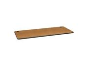 "HON M3072EGCS Huddle Utility Table Top Rectangle - 72"" x 30"" - Harvest, Charcoal"