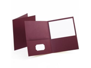 Esselte Pendaflex Corporation ESS57557 Twin Pocket Portfolio- w-o Fasteners- 11in.x8-.50in.- BY