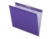 Esselte Pendaflex Corporation ESS42625 Hanging File Folder- Letter- .2 Cut- Violet