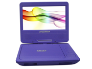 "Sylvania 7"" Portable DVD Player Purple SDVD7027 PURPLE"