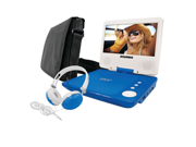"Sylvania 7"" Portable DVD Player Blue SDVD7060-COMBO-BLUE"