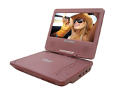 "Sylvania 7"" Portable DVD Player Pink SDVD7014 PINK"