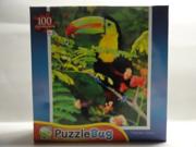 PuzzleBug Toucan 100 Piece Jigsaw Puzzle