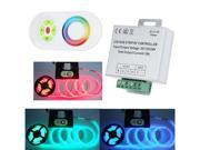 12/24V Wireless RF Remote Control Touch Panel LED Controller Dimmer for RGB LED Strips