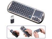 iPazzPort 2.4G Mini Handheld Wireless Keyboard with IR Remote & Laser Pointer