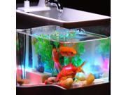 Mini USB Desktop Lamp Light Colorful LED Fish Tank Aquarium