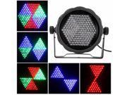 AC90-240V 25W 169 RGB LEDs Effect Light DMX512 Voice-control Stage Lighting Disco DJ KTV Bar Party Show