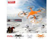 SYMA X8C 2.4G 4CH 6-Axis Gyro R/C Quadcopter RTF Drone with 2.0MP HD Camera Speed Mode Headless Mode and 3D Eversion