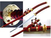 43 1/4  inch Jintachi (Cermonial) Sword, Red