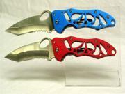 2 Pcs clear pocket knife stand