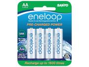Eneloop SEC-HR3U8BPN 8-pack 2000mAh AA Ni-MH Batteries