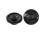 """Pioneer TS-A1685R 6-1/2"""" 4-way car speakers - also fits many 6-3/4"""" openings"""
