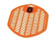 Genuine Joe 85112 Citrus Zest Scent Urinal Screen   Odor Neutralizer, Ozone safe   Citrus Zest Fragrance   12 / Box   Orange