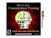 Brain Age Concentration Training Nintendo 3DS