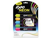 Sanford 1752226 Neon Dry Erase Marker, Bullet Tip, Assorted, 5 per Set 9SIA1PC5643966