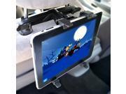 "KIQ (TM) Backseat Head Rest Car Mount Holder for iPad 2 3 4, Air, Samsung 8"" 9"" 10.1"""