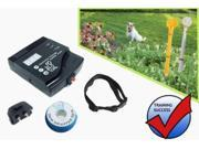 Esky® In-ground/ Underground/Invisiable Waterproof Electronic Dog/pet Fence with Dog Shock Collar(A Dog Training Whistle Clicker Included)