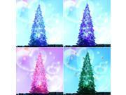 Ohuhu Christmas Tree Ice Crystal Colorful Changing LED Desk Decor/Table Lamp Light