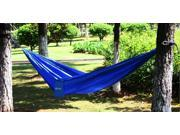 Ohuhu Portable Nylon Fabric Travel Outdoor Camping Hammock - Parachute Sleep For Double Person, 600-Pound Capacity - Blue