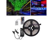 OxyLED® 5M SMD RGB 5050 Waterproof LED Strip light 300 LED + 44 Key IR Remote + 12V 5A Power Supply Included