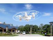 NextX F8 RC Nano Quadcopter With 4CH 2.4GHz 6-Gyro, Outdoor RC Nano Drone, Silver