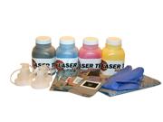 Laser Tek Services® 4 Pack Toner Refill for Brother TN210 TN-210 TN210BK TN210C TN210M TN210Y HL-3040CN MFC-9125CN