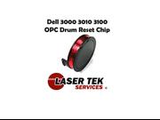 Laser Tek Services ® Drum Reset Chip for the Dell 3100 3100CN 3000 3000CN Drum Unit