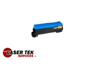 Laser Tek Services ® Cyan Compatible Toner Cartridge for the Kyocera TK-542 TK542 TK-542C TK542C FS-C5100DN FS-C5100