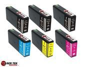 Laser Tek Services® 6PK T676 XL Remanufactured Ink Replacements for the Epson WorkForce Pro WP-4020 WP-4090 WP-4520