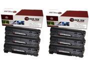 Laser Tek Services® 6 Compatible Toner Cartridge for Canon 128 CRG-128 3500B001AA ImageClass MF4770n MF4880dw MF4890dw