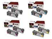 Laser Tek Services® Xerox 6500 8 Pack High Yield Compatible Replacements 106R01597, 106R01594, 106R01595, 106R01596