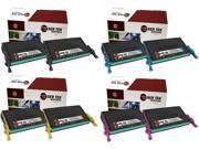 Laser Tek Services® 8 Pack Replacement Samsung CLT-609S High Yield Toner Cartridges (2 CLT-K609S,2 CLT-C609S,2 CLT-M609S,2 CLT-Y609S)