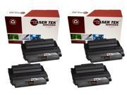 Laser Tek Services® 4PK Xerox 108R00795 Black High Yield Remanufactured Replacement Toner Cartridges for the 3635