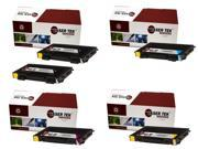 Laser Tek Services® 5 pack Xerox Phaser 6100 Replacement Toner Cartridges: 106R00684, 106R00680, 106R00681, 106R00682