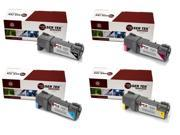 Laser Tek Services® 4PK Replacement Dell 1320 Toner Cartridges (1B KU052, 1C KU053, 1M KU055, 1Y KU054)