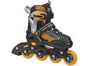 Roller Derby Boys' Stryde Adjustable Inline Skates Medium