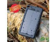 8000mAh External Portable Waterproof Shockproof Solar Panel Charger Power Bank Battery Backup with Flashlight for iPhone 6 Plus 6 5S 5C 5 Samsung Galaxy S5 S4 Note 4 3 Sony Z3 LG G3 Moto X Nokia etc.