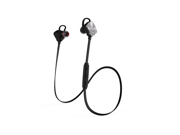 Mpow Magneto Wearable Bluetooth 4.1 Wireless Sports Headphones In-ear apt-X Stereo Earbuds Headsets with 8-Hour Mic Talking Time for Running Exercise(Black/Gray)
