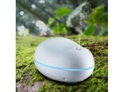 80ml Ultra Mini USB Aroma Oil Diffuser Portable Cool Mist Humidifier with 7 Auto Color-changing Light for room office-White