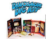 Dinosaur Dig Kit! Excavate REAL Dino Fossils!